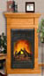 Comfort Glow compact electric fireplace system the smallest zero clearance fireplace system available.