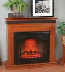 comfort glow size electric fireplace a zero clearance