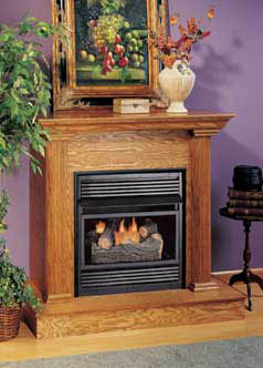 Comfort Glow compact fireplaces - ventless fireplace systems