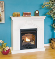 Comfort Glow Bedroom Ventfree Mini Compact Gas Fireplace System