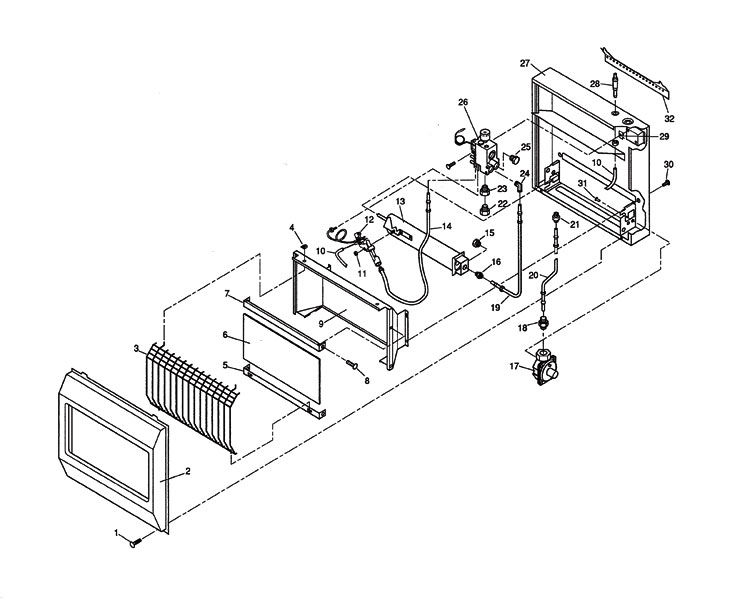 firep heater wiring diagram