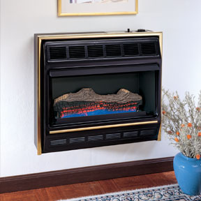 Comfort Glow ventless fireplaces in the Brookhill